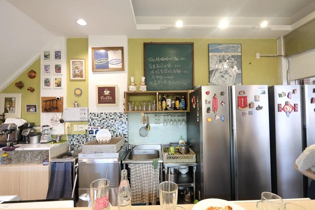 ciao bella ristorante italiano, Ciao Bella 義大利麵, 虎尾寮義大利麵, 台南義式餐廳, 虎尾寮美食, 焗烤千層麵