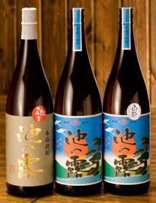 だいやめ×熊本県天草酒造『池の露』