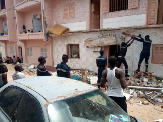Effondrement d'un balcon à l'Unité 7 des Parcelles Assainies : Une nièce du lutteur Moussa Dioum y perd la vie