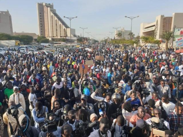 Les images de la mobilisation de «Nio Lank»...