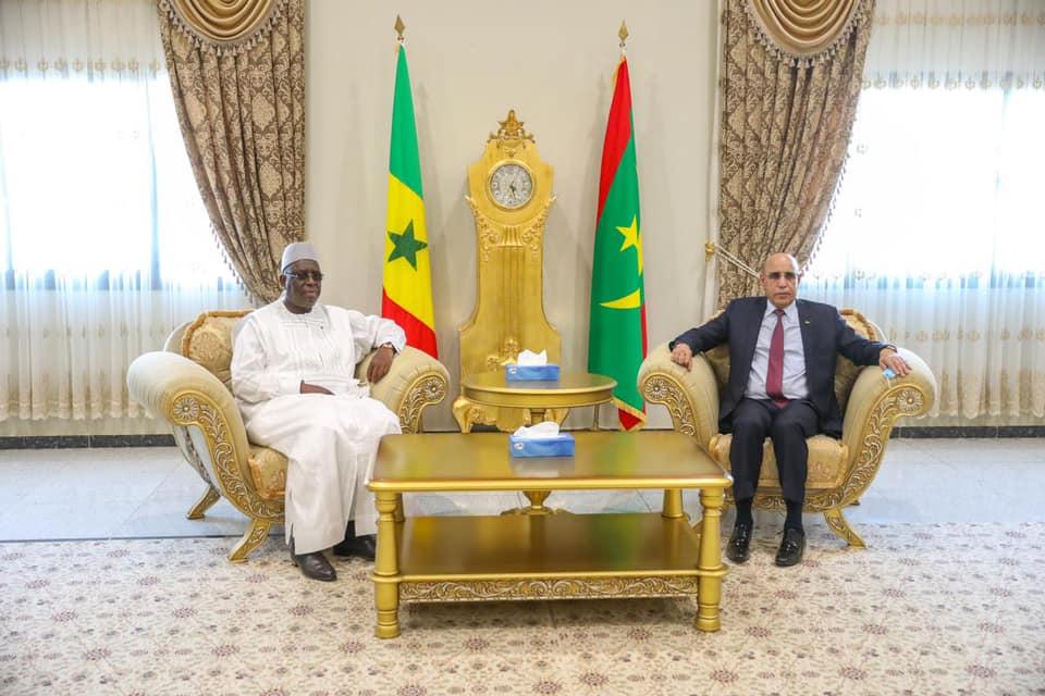 Macky et Marie%CC%80me Faye Sall a%CC%80 Nouakchott10 - Senenews - Actualité au Sénégal, Politique, Économie, Sport