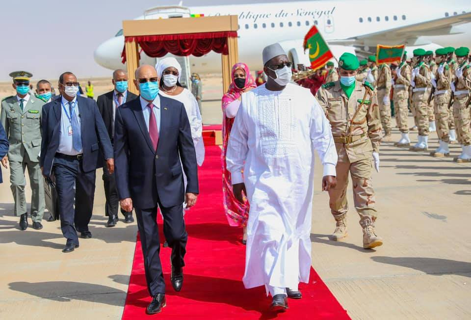 Macky et Marie%CC%80me Faye Sall a%CC%80 Nouakchott11 - Senenews - Actualité au Sénégal, Politique, Économie, Sport