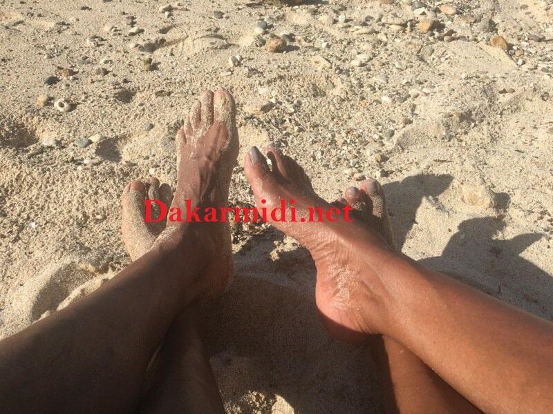 pieds des Obama