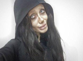 Instagram-Celebrity-Sahar-Tabars-Quest-To-Look-Like-Angelina-Jolie-Hoodie
