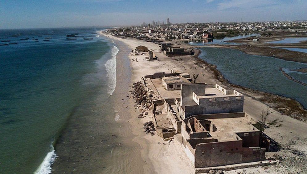 Dégâts écologiques : la mer se déchaîne à Bargny