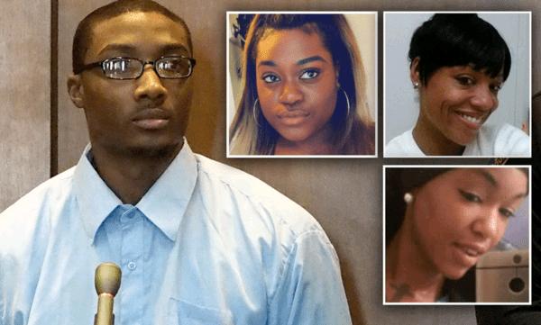 Un jeune homme de 25 ans condamné à 160 ans de prison pour avoir violé et tué trois jeunes dames