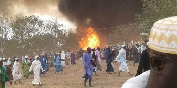 Urgent- Un grave incendie au Dakaa de Médina Gounass