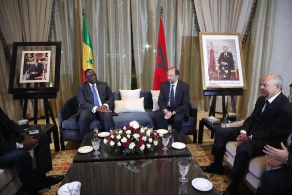 """Macky Sall  tresse des lauriers au monarque du Maroc: """"SM le Roi Mohammed VI est un champion de l'unité africaine et (...)"""""""
