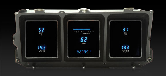 1973 79 Ford Pickup, 78 79 Bronco and 78 89 E Van Digital Instrument System