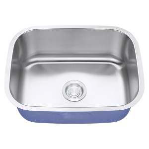 "Dakota Signature Series 23"" x 18"" Standard Radius Undermount 16 Gauge Stainless Steel Sink"