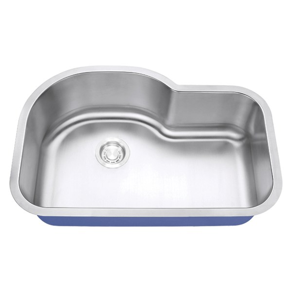 "Dakota Signature Series 31"" x 21"" Standard Radius Undermount 16 Gauge Stainless Steel Sink"
