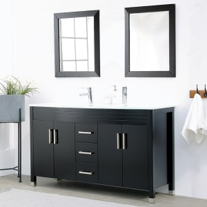 V-31-60-72E-2 dark color dual vanity