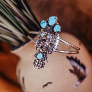 Sleeping Beauty Kachina Bracelet
