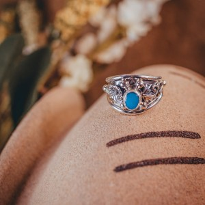 Sleeping Beauty Ring Sz. 7