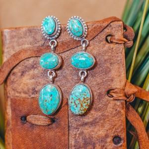 Tyrone Turquoise Earrings
