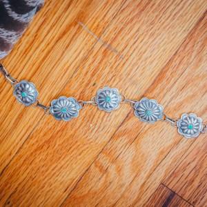 Concho Link Bracelet