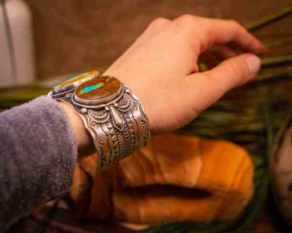 Boulder Turquoise Cuff