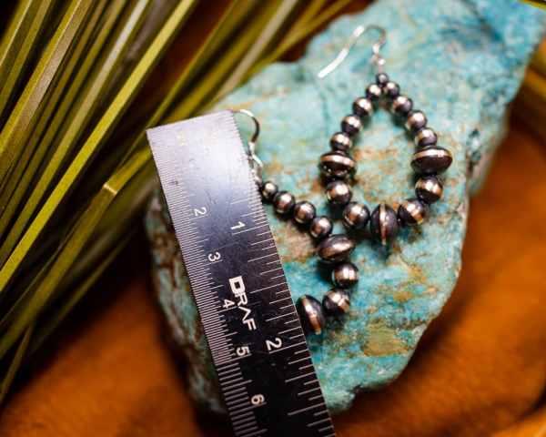 Navajo Pearl Earrings