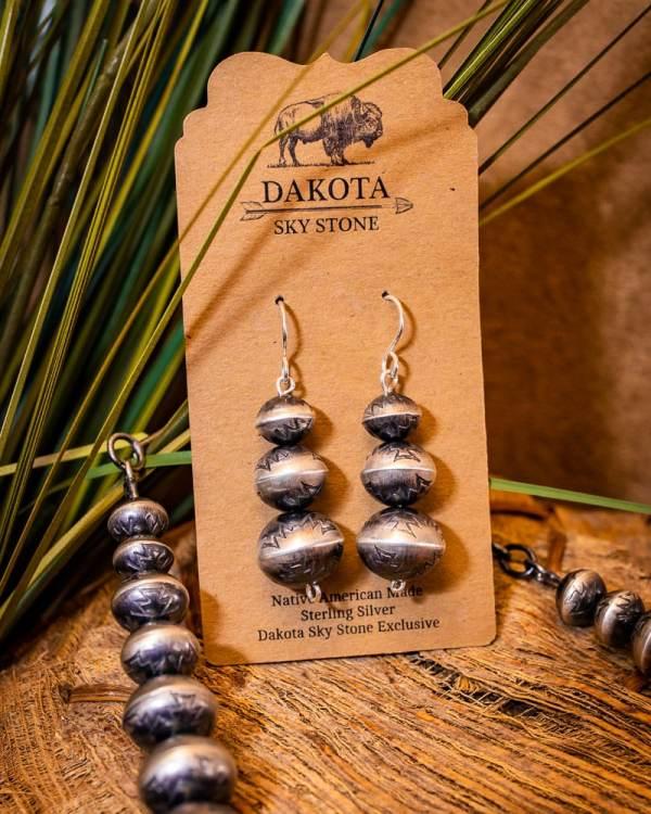 Navajo Pearl Necklace Set