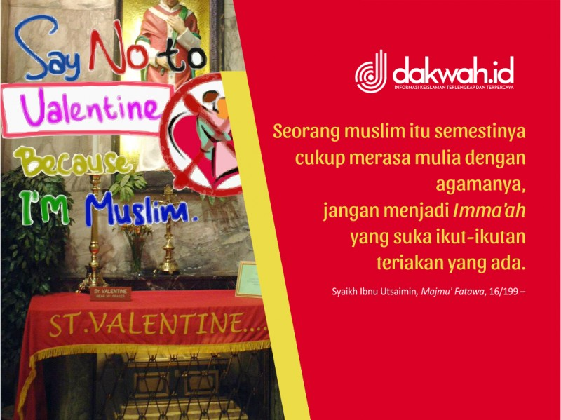 Valentine Day Adalah Produk Budaya Bangsa Penyembah Dewa