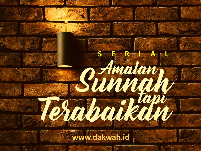 Sunnah tapi Terabaikan #3 Wudhu Sebelum Mandi Junub-dakwah.id
