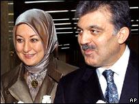Abdullah Gul dan istri