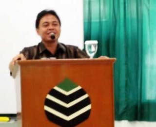 Walikota Depok Nur Mahmudi Isma'il saat memberikan sambutan di acara Musyawarah Kerja Nasional (Mukernas) II KAMMI, Kamis (29/11) di Graha Insan Cita Depok, Jawa Barat. (ist)