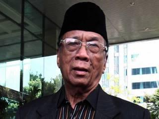 Ketua Majelis Ulama Indonesia (MUI), Amidhan.  (TRIBUNNEWS.COM/HERUDIN)