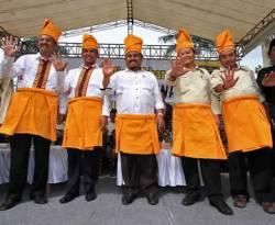 Apel PKS Siaga Pemilu di Lapangan Istana Maimun, jalan Brigadir Jenderal  Katamso (Sukaraja), Medan, Jumat (11/1/2013). (Dok. DPP PKS)