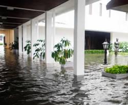 Istana Kepresidenan terendam banjir, 17 Januari 2013. (Biro Pers Istana)