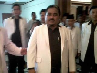 Luthfi Hasan Ishaaq. (Edwin Firdaus/Tribunnews.com)