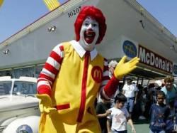 Maskot badut restoran McDonald's (Reuters/vivanews)