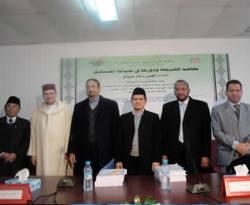 Sidang Disertasi Fahmi Islam Jiwanto di Universitas Sidi Mohammed Ben Abdelah, Maroko, 12 Januari 2012. (Sukmahadi)