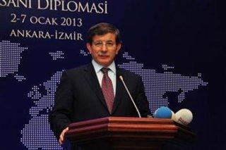 Menlu Turki, Ahmet Davutoglu (inet)