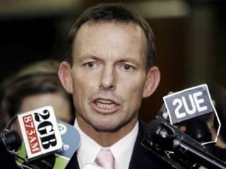 Pemimpin kubu oposisi Australia, Tony Abbott. (AP Photo / ROL)
