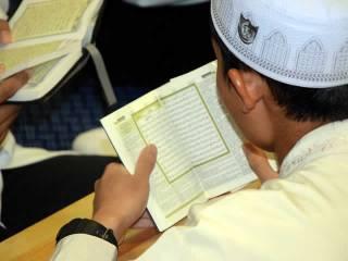 Acara camp Al-Qur'an ikhwan. (Choiriyah)