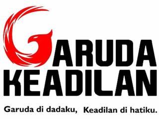 Logo Garuda Keadilan. (inet)