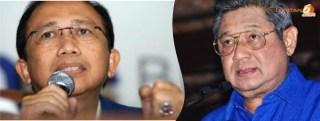 Marzuki Alie bersama Susilo Bambang Yudhoyono (ilustrasi)