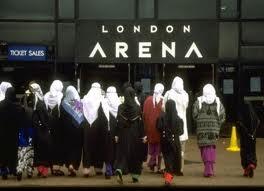 Geliat Muslimah Inggris (Ilustrasi)