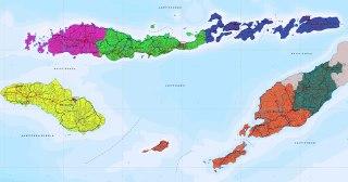 Peta Provinsi NTT. (nttprov.go.id)