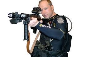 Pelaku teror Norwegia Anders Behring Breivik