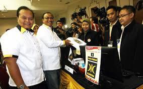 PKS mendaftarkan Bacaleg ke KPU