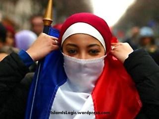 Muslimah Perancis (inet)