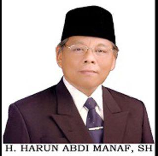 Ketua MUI Kota Tegal Harun Abdi Manaf