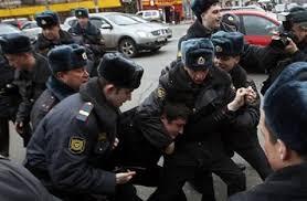 polisi rusia