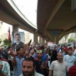 di jalan Abbasea menuju markas Paspampres Kairo