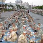 militer buka puasa bareng
