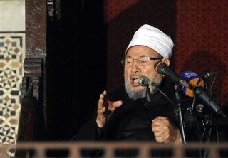 Syaikh Yusuf Qaradhawi. (Reuters)