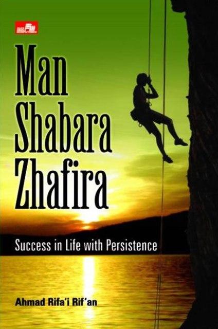 """Cover buku """"Man Shabara Zhafira""""."""