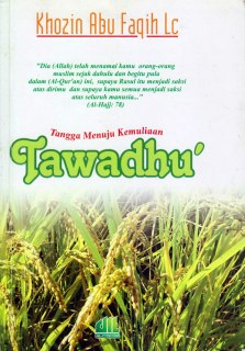 """Cover buku """"Tangga Kemuliaan Menuju Tawadhu'""""."""